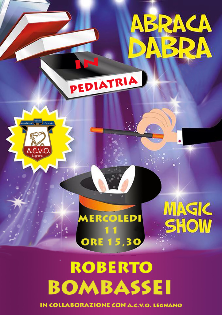 Magic Show in pediatria